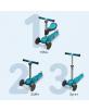 Trottinette T1 3 roues 3en1 Bleu - 15m+