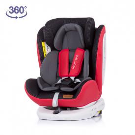Silla de coche 360º ISOFIX Tourneo Gr. 0+/1/2/3 - Rojo