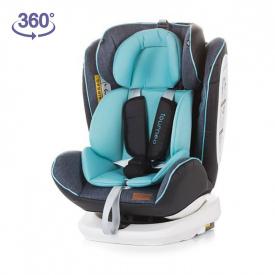 Silla de coche 360º ISOFIX Tourneo Gr. 0+/1/2/3 - Sky Blue