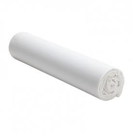 Bajera Percal de algodón lavado Blanco - 160x200cm