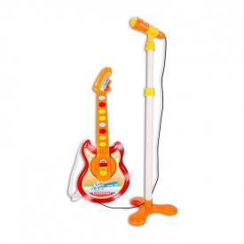 Baby guitarra rock con micrófono Baby Azul - 36m+